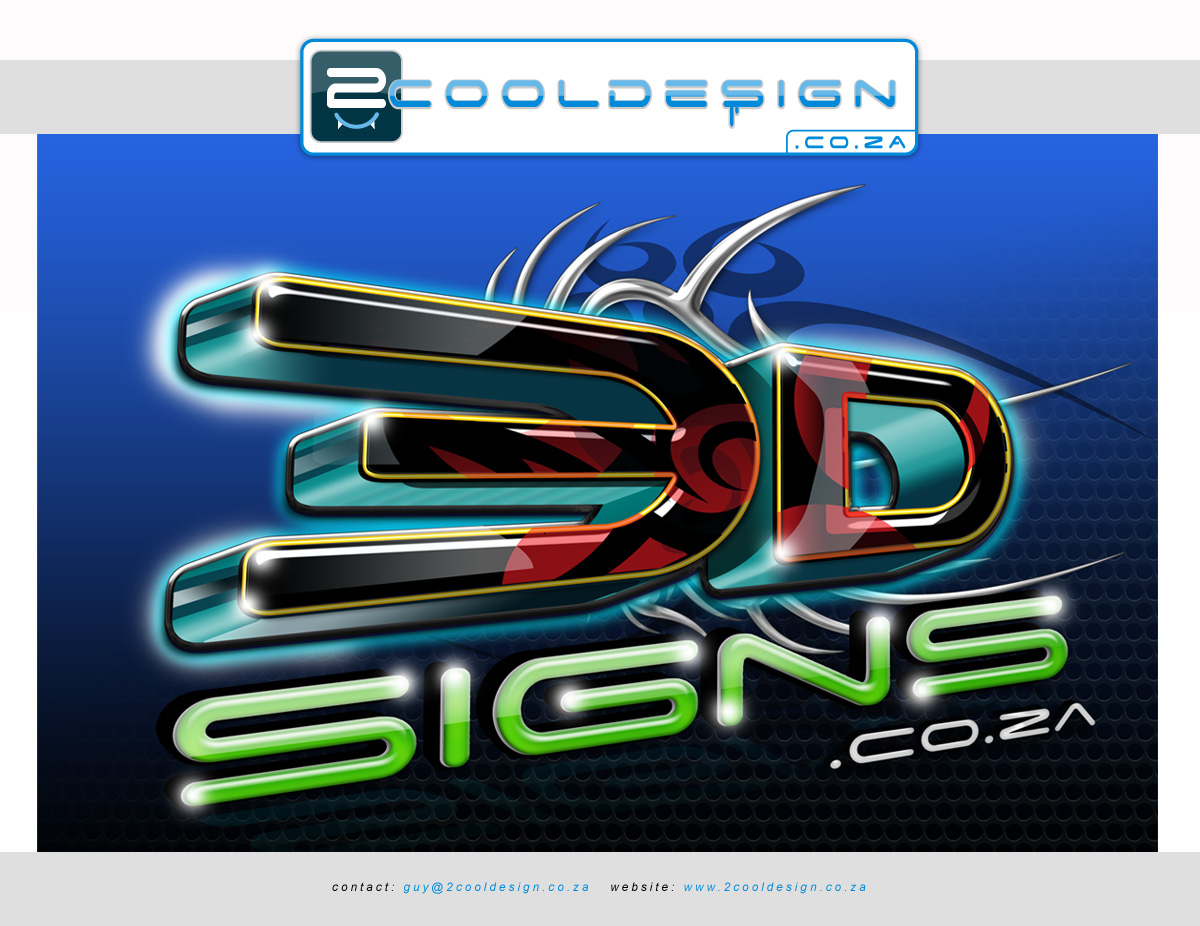 3d signs: