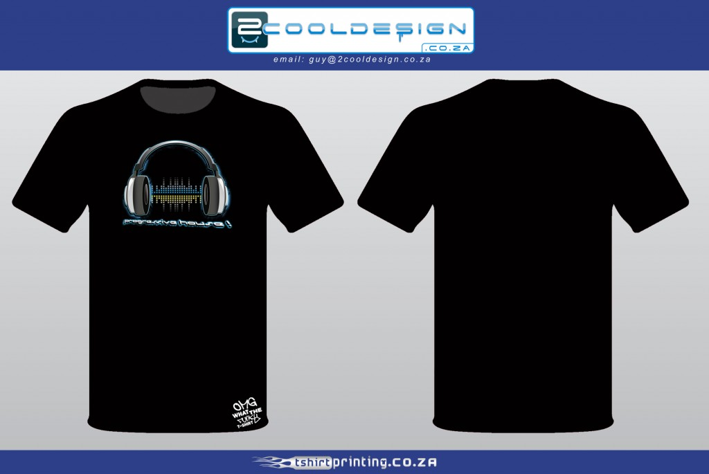 Cool DJ t-shirt by Guy Tasker 2cooldesign - Progressive house T-shirt