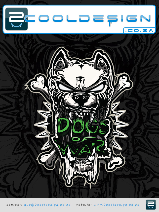 Dog Design t Shirts Dogs of War T-shirt Design by