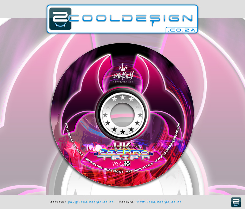 Cd artwork, design for dance music cd design