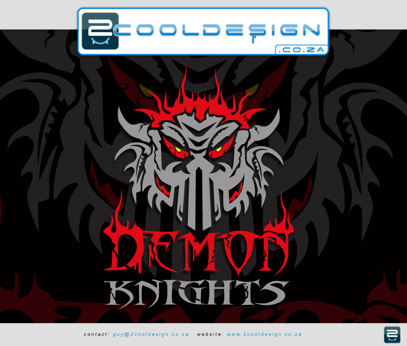 2013 demon knights cricket team sports t-shirt design