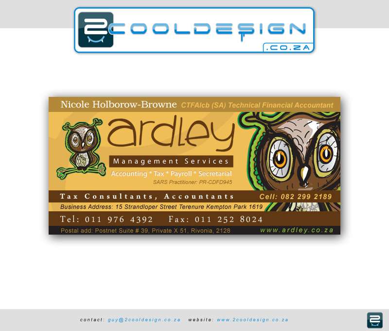 Signature design for Ardley