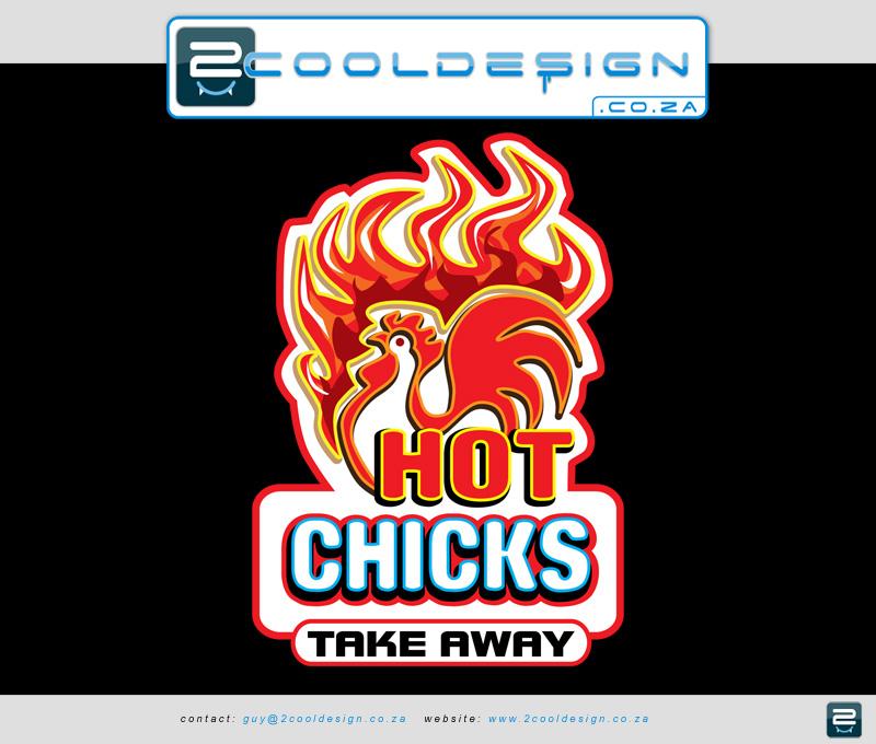 Fast food 3D signage design & logo design