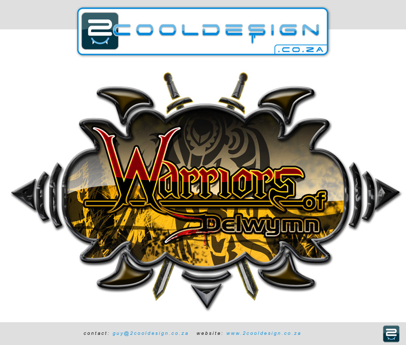 Cool Game Logo Design > Advanced photoshop logo for online game