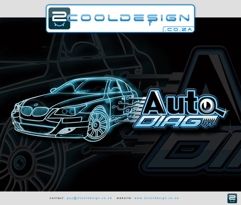 Cool Logo design for auto Diag company who specialize in bmw cars