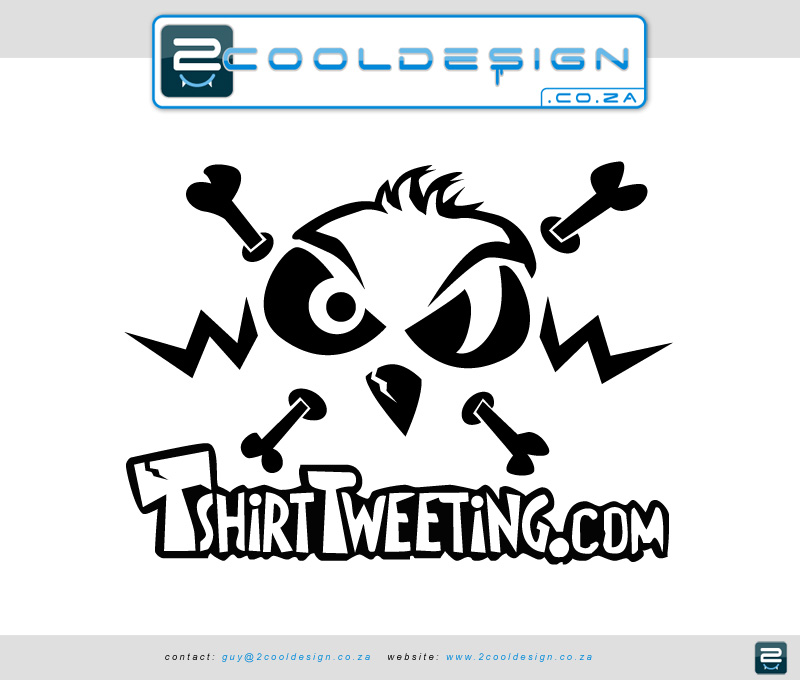tshirttweeting.com logo design
