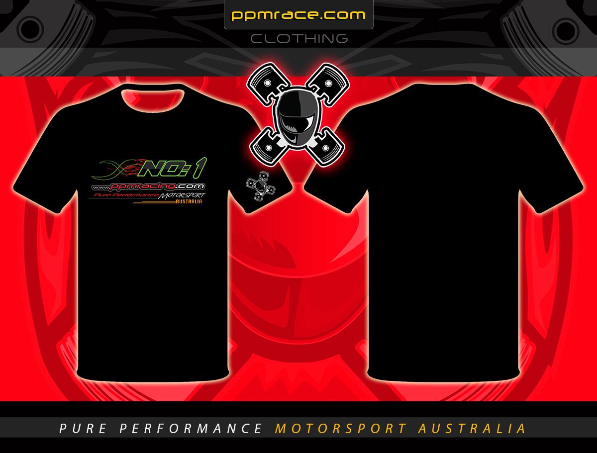 No:1 tshirt design, motorsport tshirt designer