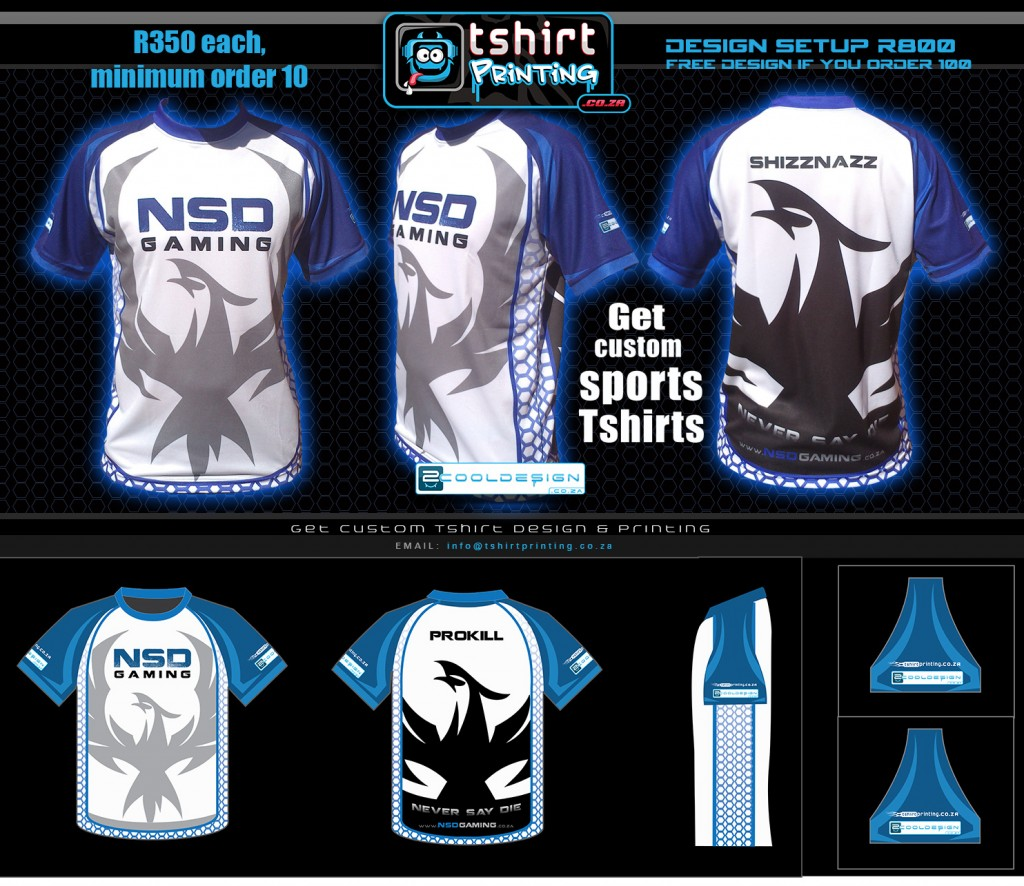 design and final all over prnted shirt- sublimation shirt printing