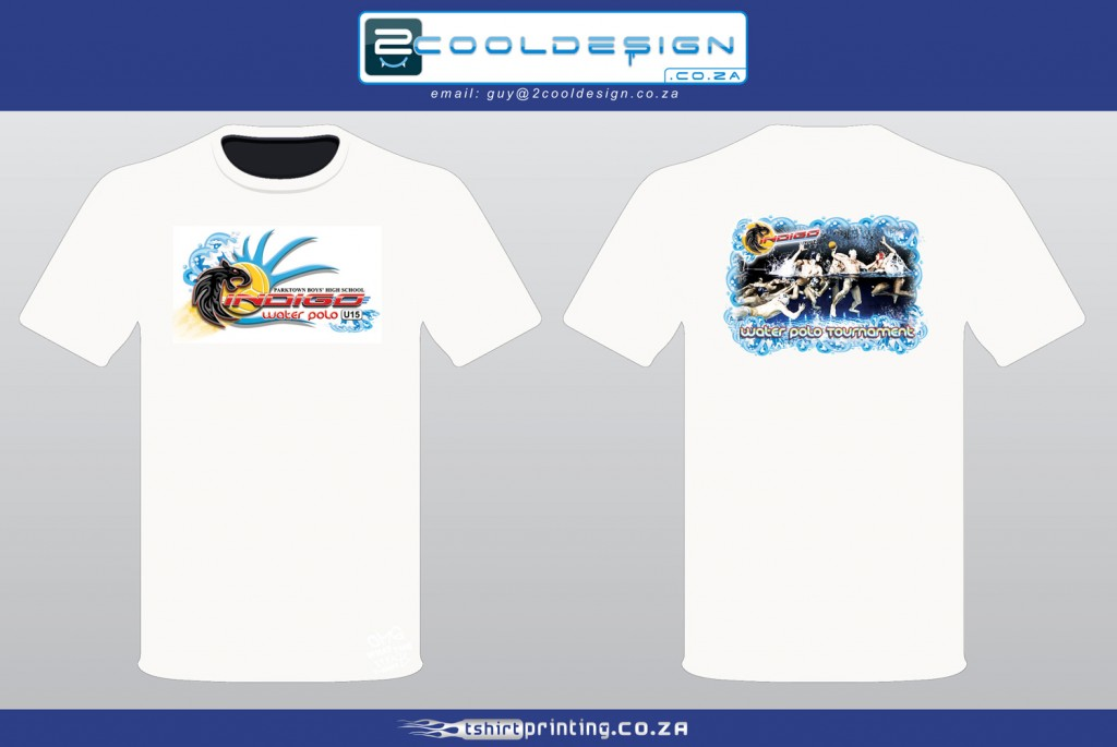 water-polo-school-tshirt-design