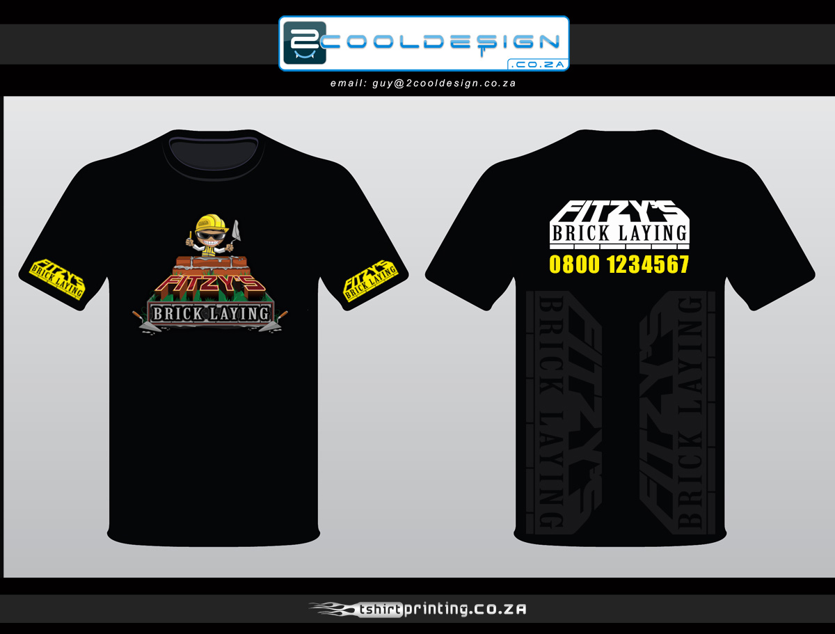 T shirt design brick lay company 2cooldesign clothing for T shirt design companies online