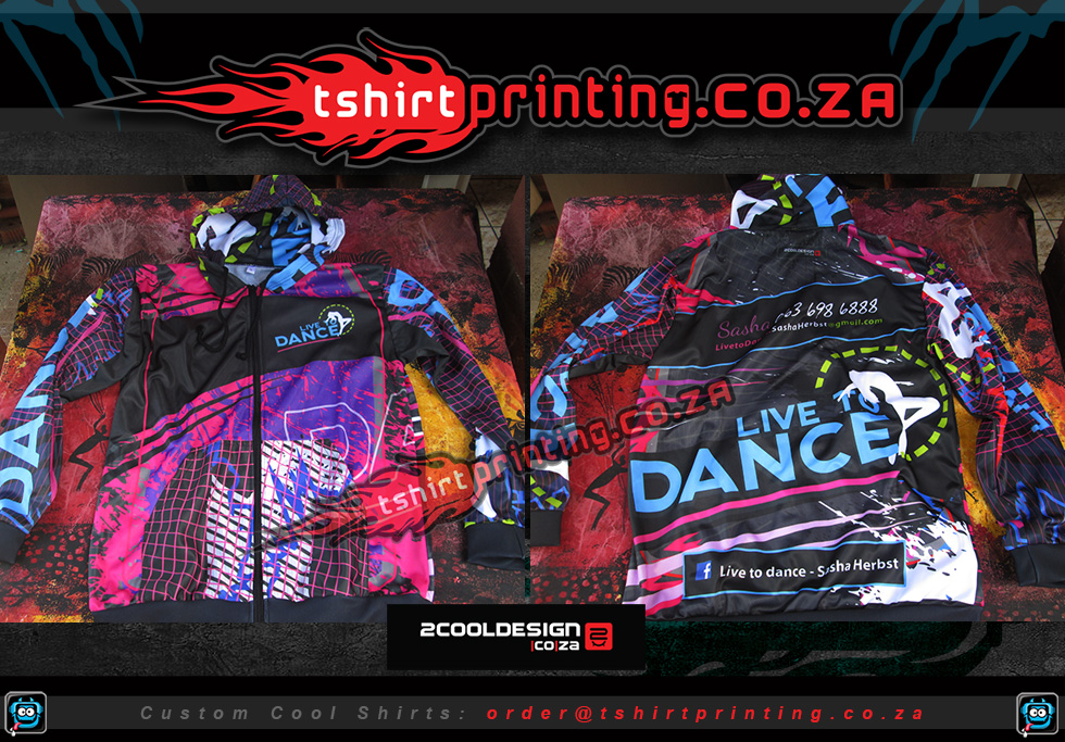 dance hoodies all over printed custom hoodies south africa