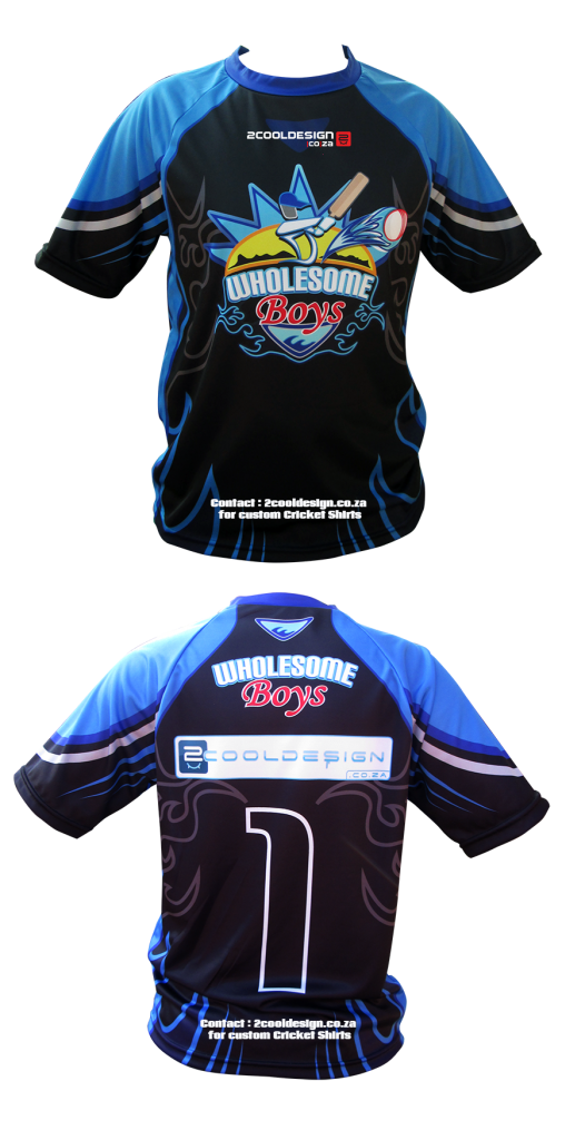 custom all over print cricket shirts by 2cooldesign