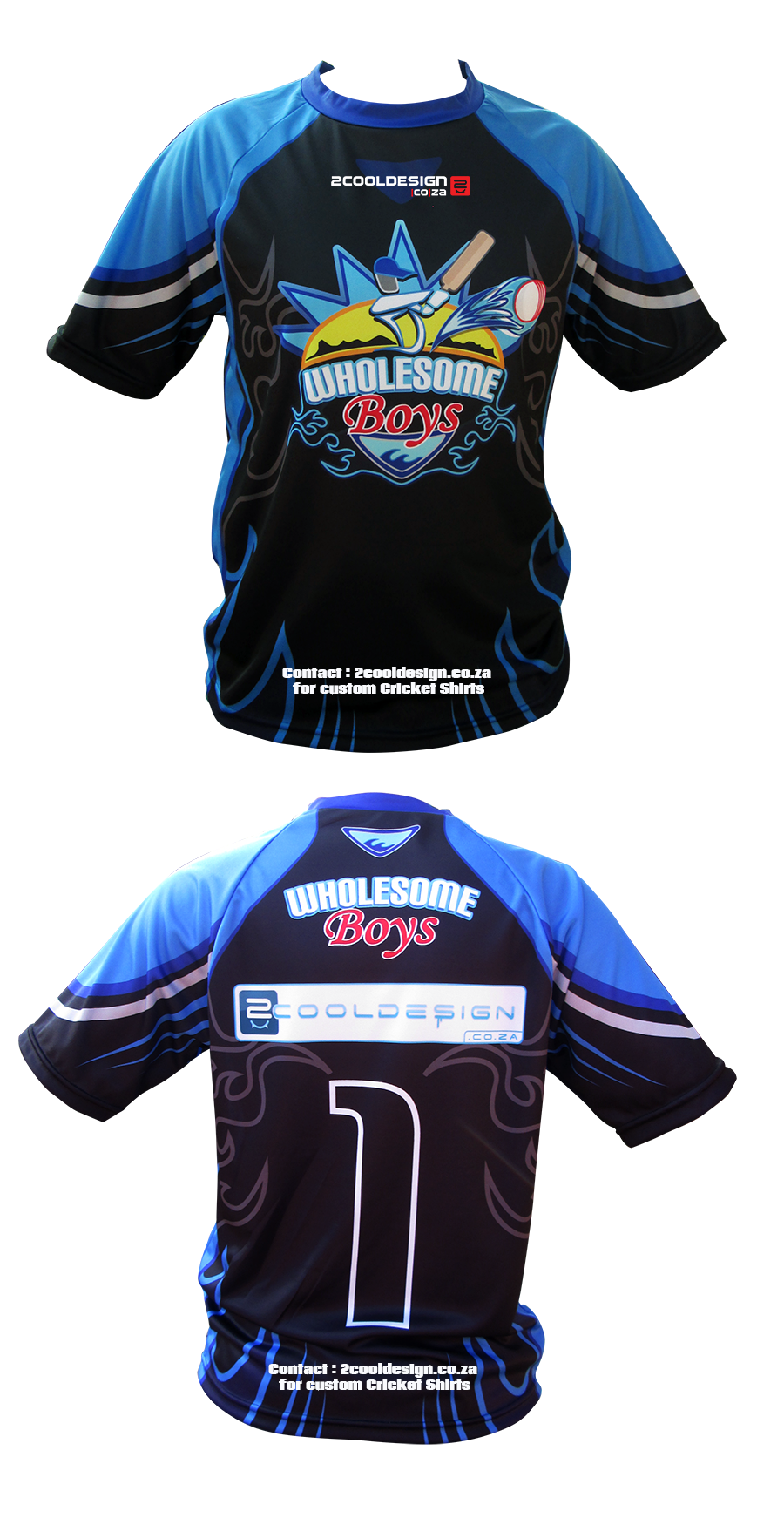 Design t shirt and print - Cool Cricket Team Shirt Design Custom All Over Print Cricket Shirts By 2cooldesign