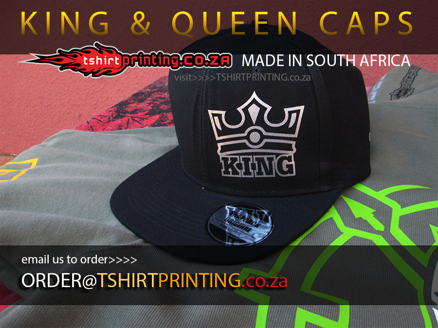 king and queen caps