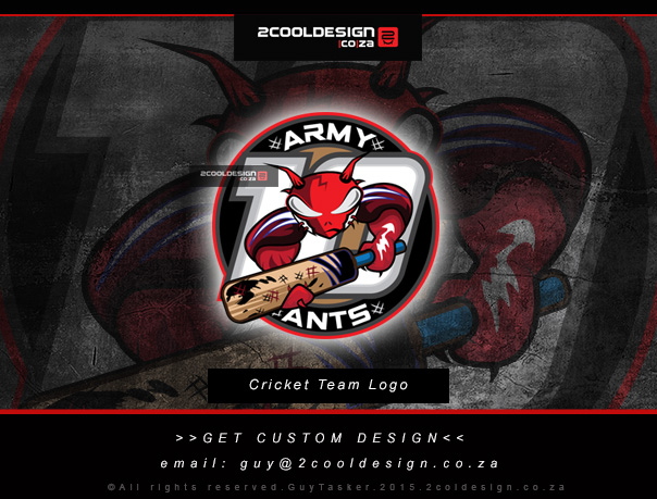 Cool-Cricket-Team-logo-design-by-2cooldesign