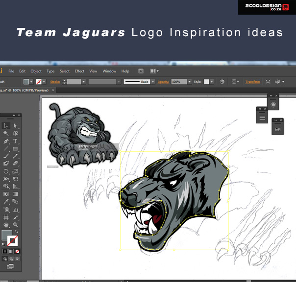 illustrator-vector-logo-design-jaguars-team-logo-start