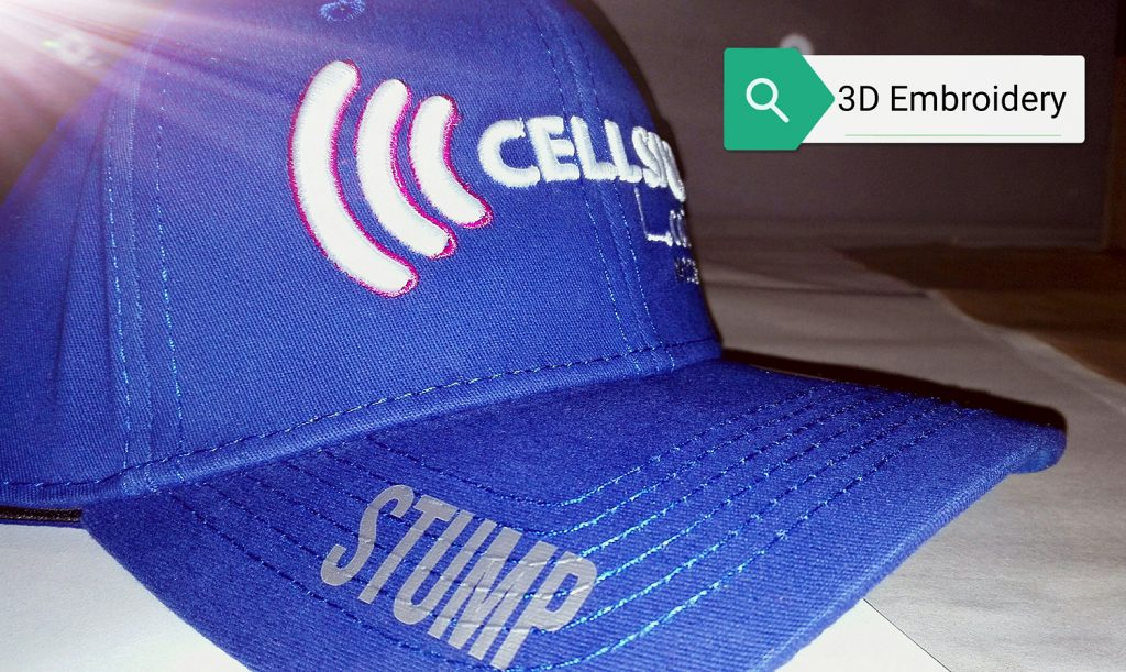 3D-embroidery-on-caps-with-vinyl-print-on-peak-of-cap